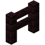 Nether brick fence