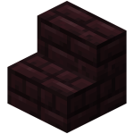 Nether brick stairs