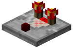 Redstone comparator active
