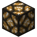 Redstone lamp active