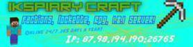 Ikspiary Craft! 1.8.1! Rpg Server!