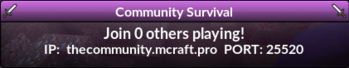 Community Survival