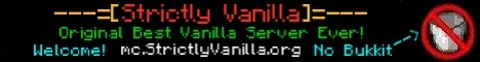 Strictly Vanilla