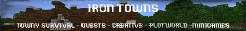 Iron Towns (works but says offline