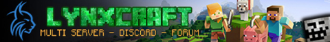 LynxCraft.FUN SMP, Vanilla, SkyBlock Pets Minions [1.8 to 1.15.2]